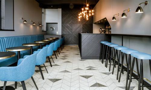 A bar floor