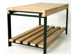 Gekko design oak coffee table