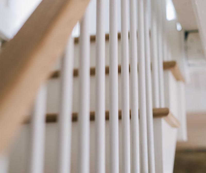 Digey refurbishment stair banister