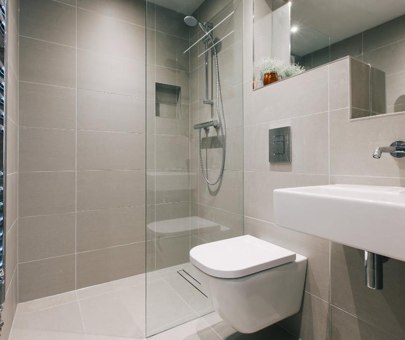 Digey refurbishment bathroom