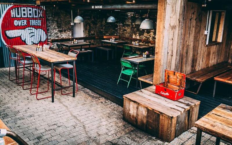 Hubbox Truro restaurant floor 1