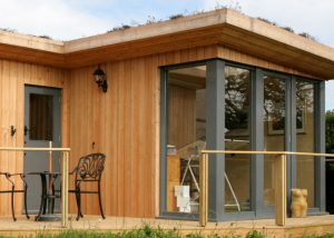 Studio clad is siberian larch