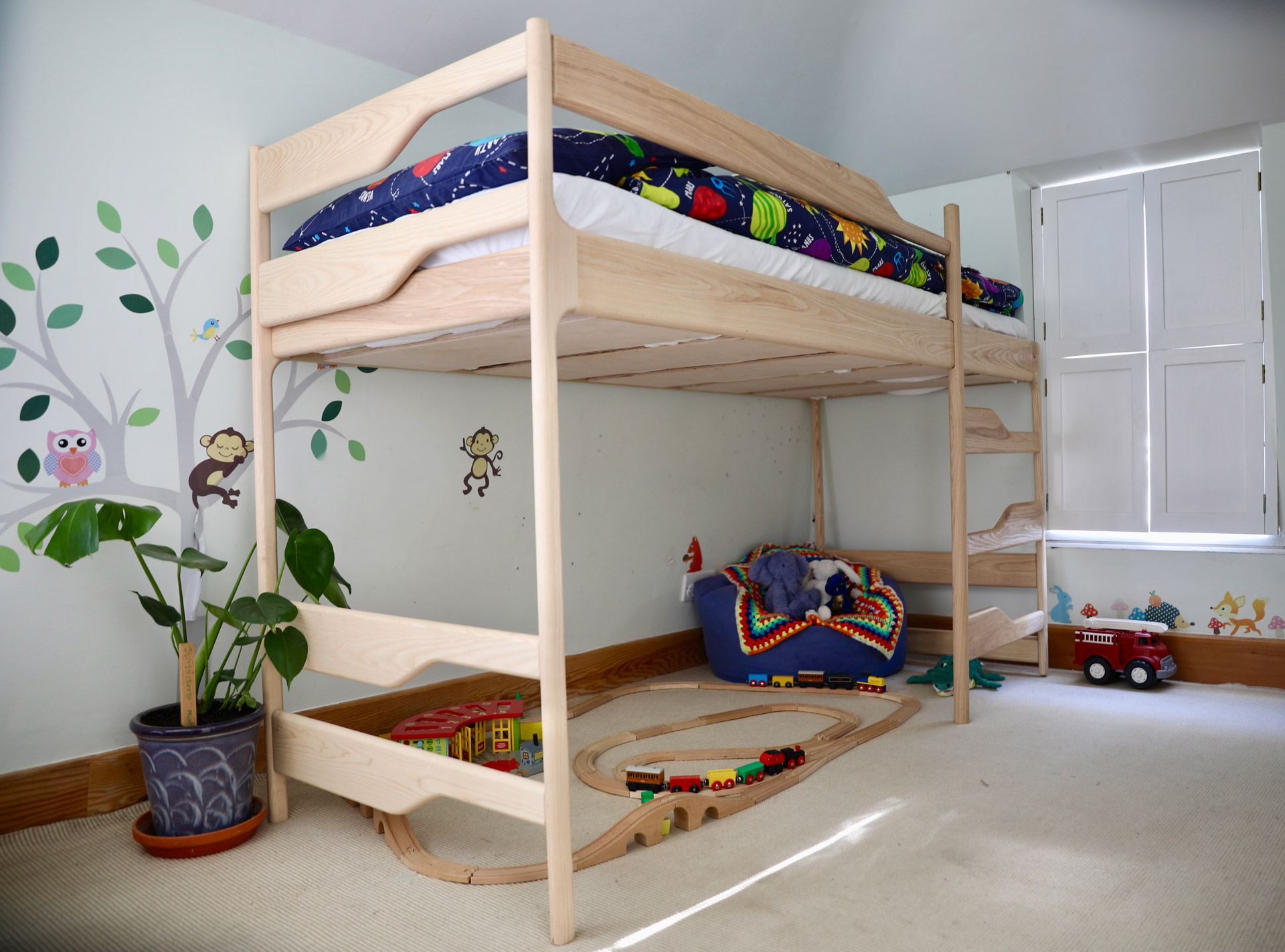 Bunkbed in Ash