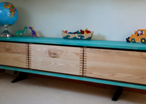 Drawer Unit in Blue