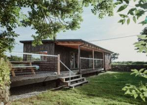 Gekko Design Hellesveor Cabin outside view