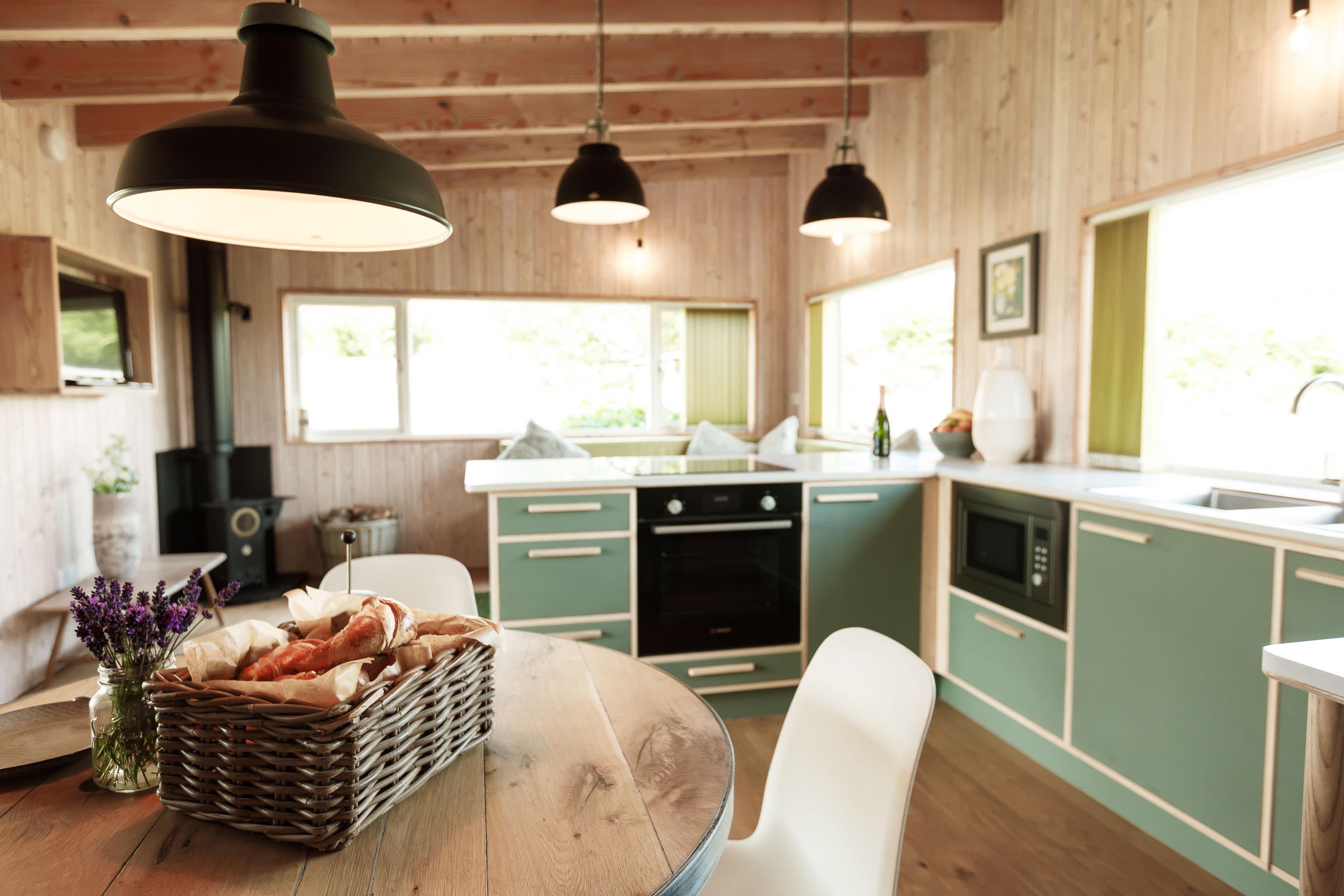 Gekko Design Hellesveor Cabin kitchen