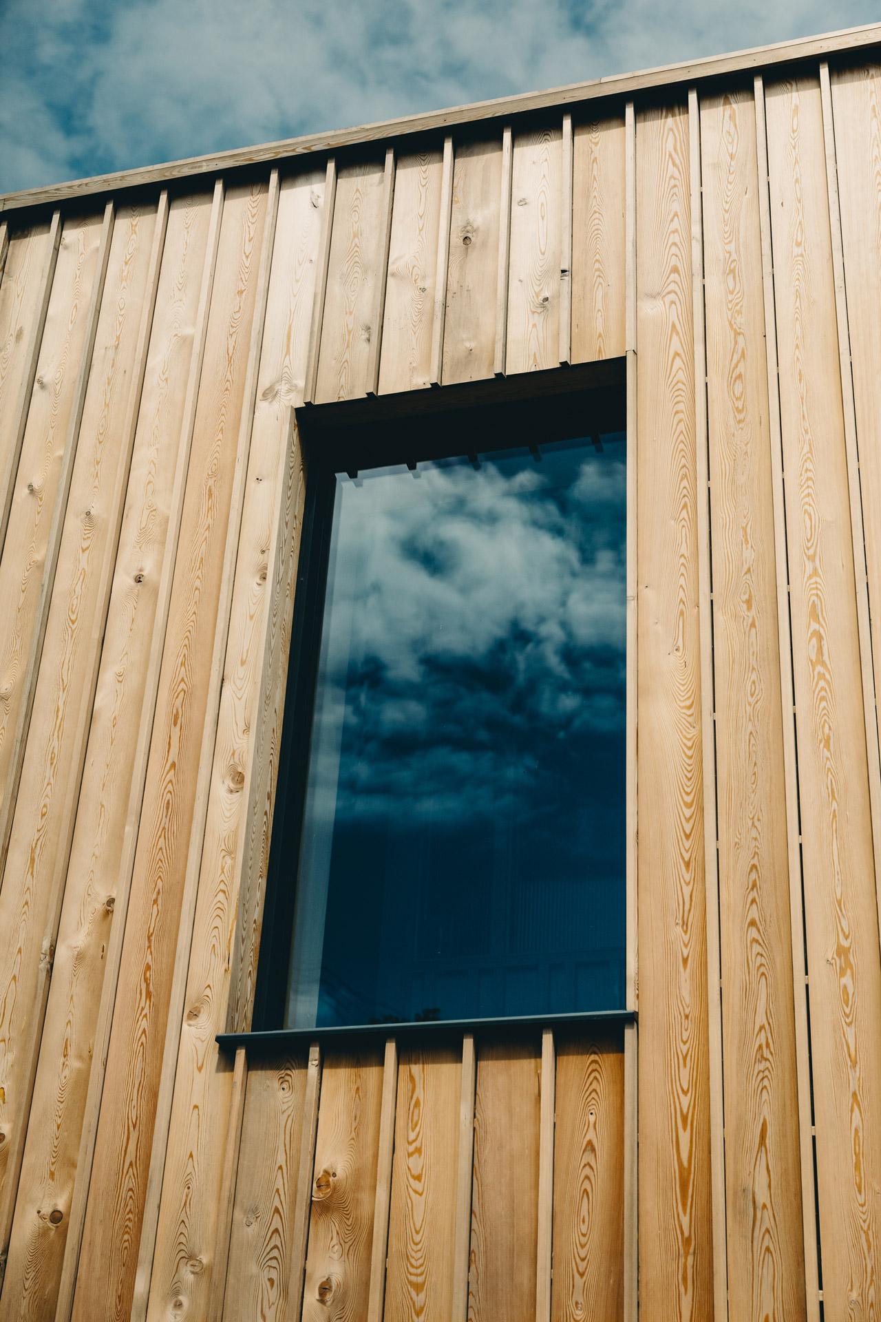 Ukiyo House Refurb cladding