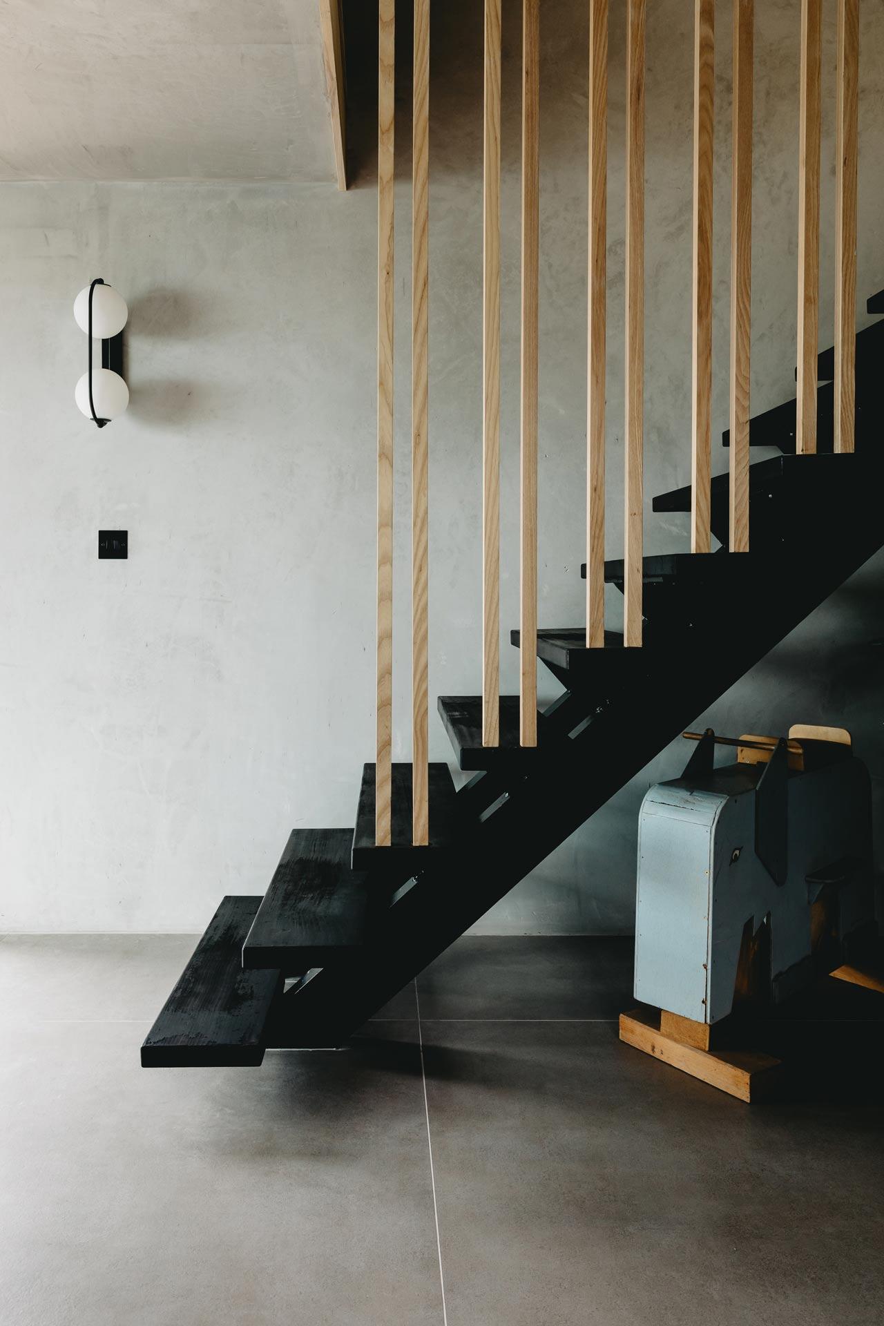 Ukiyo house Refurb stairs
