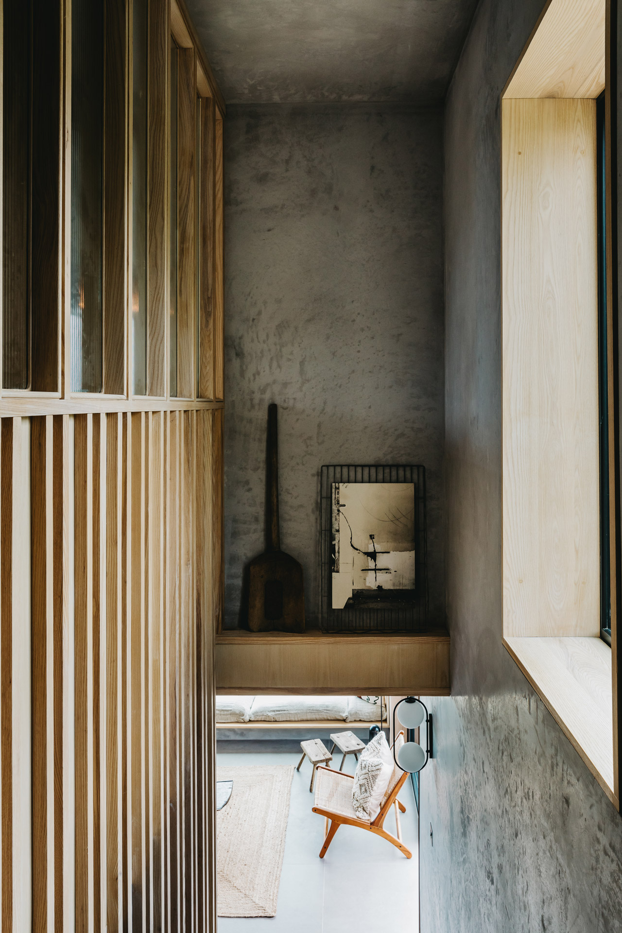 Ukiyo House Refurb panelling