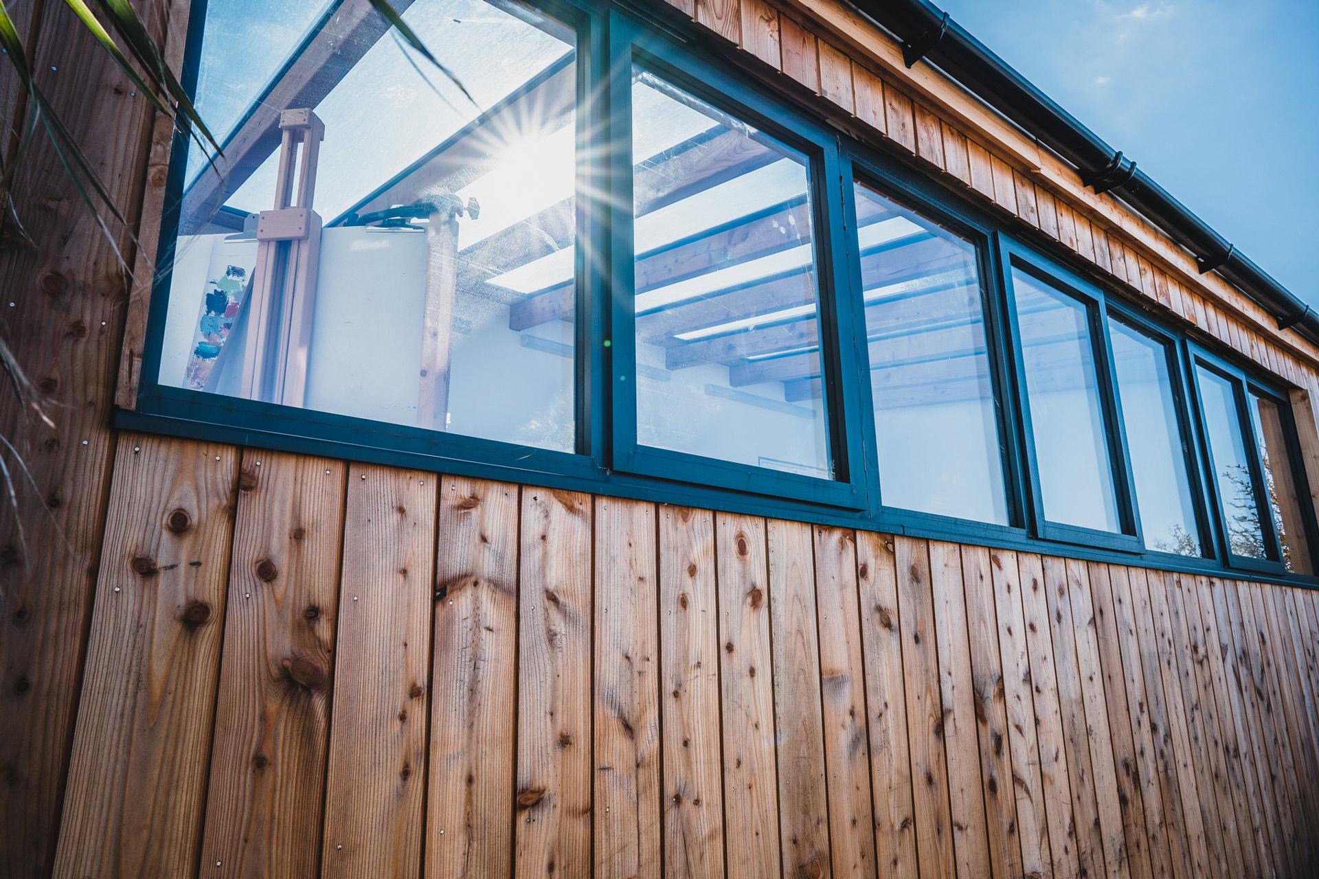 Gekko Artist Studio Exterior