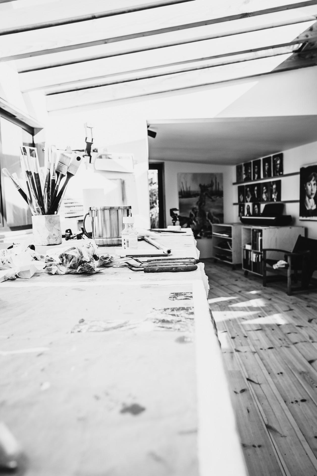 Gekko Artist Studio Interior